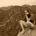 Henneke at great wall thumbnail