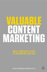 Cover of the Valuable Content Marketing book