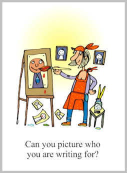 Can you picture who you are writing for?