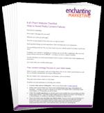 61-point checklist 3D 150 wide