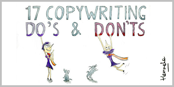 17 copywriting do's and don'ts