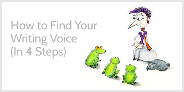 How to Find Your Writing Voice in 4 Steps