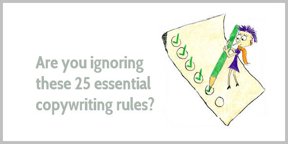 25 copywriting essentials