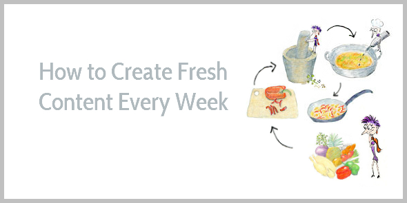 How to Create Fresh Content Every Week