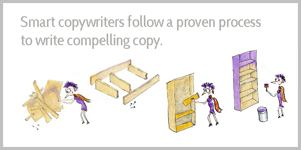 Smart copywriters follow a proven process