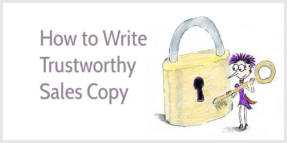 How to write trustworthy sales copy