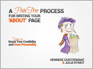 A Pain Free Process for Writing Your 'About' Page