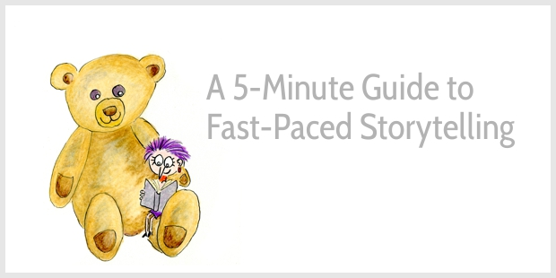 pacing in storytelling how to write a fast paced story with examples
