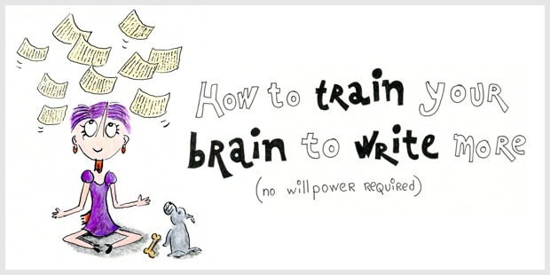 How to train your brain to write more