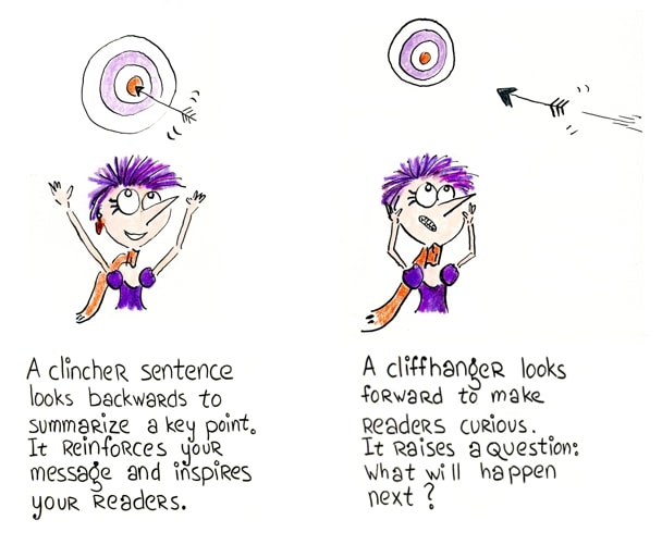 How to Write a Clincher Sentence (With 7 Examples