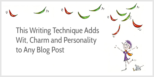 Funny metaphors add charm and personality to any blog post