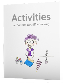ebook with headline activities