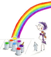 visual words can paint rainbows