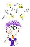 writing process step 1 - idea generation